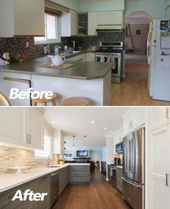 Before After Renovate