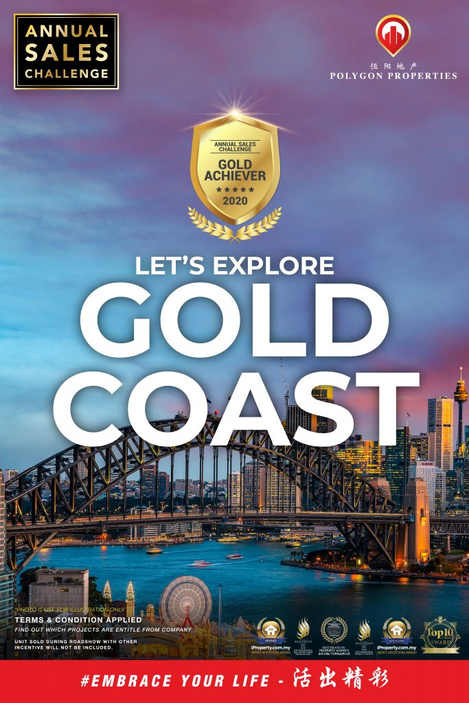 Polygon Annual Sales 2020 Sales Challenge - Gold Coast